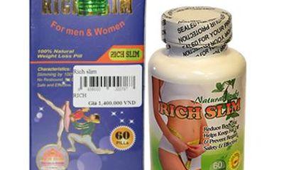 Giải đáp thắc mắc về sản phẩm giảm cân Rich Slim