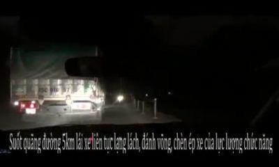 Clip: Chạy trốn thanh tra GT, tài xế đánh võng lạng lách trên đường