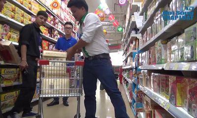 Clip: Hà Nội thanh tra hàng loạt siêu thị