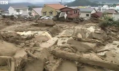 Clip: Sạt lở đất nghiêm trọng khiến hàng chục người chết ở Nhật Bản