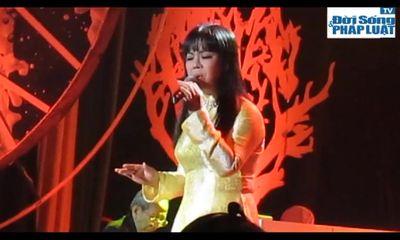Nguyễn Ánh 9 đệm đàn điêu luyện cho Ánh Tuyết hát Mùa thu cánh nâu