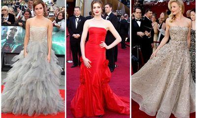 Những thiết kế của Oscar de la Renta giúp Sao Hollywood tỏa sáng