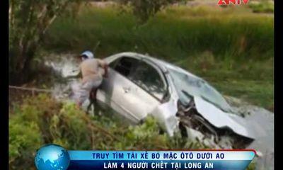 Truy tìm tài xế bỏ mặc ôtô làm 4 người chết