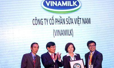 Vinamilk được Forbes vinh danh công ty niêm yết tốt nhất VN 2014