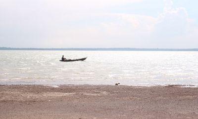 Cá sấu dài 1,2m sổng chuồng xuất hiện ở hồ Trị An