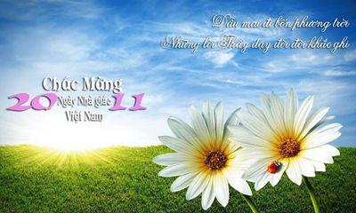 Ngày 20/11: Những bài thơ hay và ý nghĩa dành tặng thầy cô