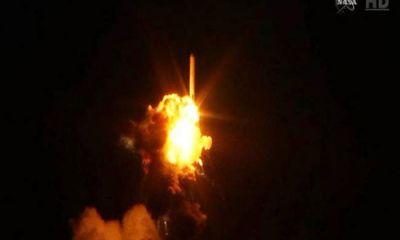 Clip: Tên lửa Mỹ nổ tung chỉ vài giây khi rời bệ phóng