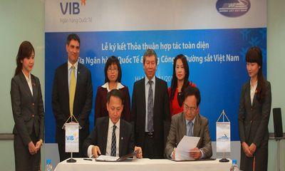 Hợp tác toàn diện giữa Tổng Công ty Đường sắt Việt Nam và VIB