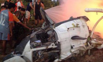 Rơi trực thăng quân sự ở Thái Lan, 9 quân nhân thiệt mạng