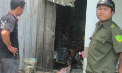 Đồng Nai: Cả nhà thoát nạn khi phòng trọ bị đốt cháy