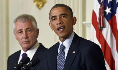 """Bộ trưởng Quốc phòng Mỹ bị """"sa thải"""" hay thất vọng với ông Obama?"""