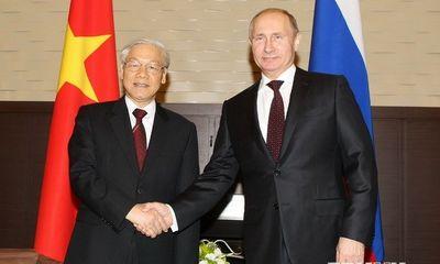 Việt-Nga ra Tuyên bố tiếp tục tăng quan hệ đối tác chiến lược