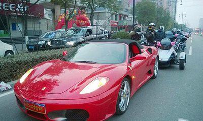 Xôn xao đoàn xe rước dâu giá trị hàng trăm tỷ đồng ở Trung Quốc