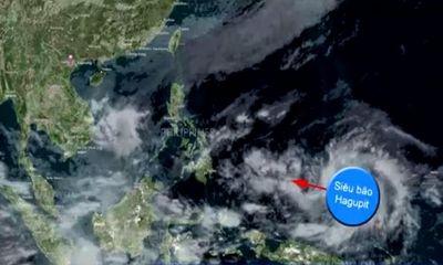 Video: Siêu bão Hagupit có khả năng tiến vào biển Đông?