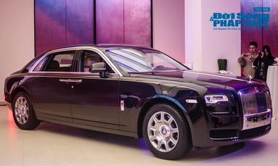 Choáng ngợp Rolls-Royce Ghost Series II giá 19 tỷ đồng tại Hà Nội