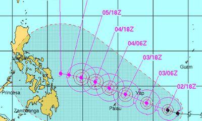 Siêu bão Hagupit sắp đổ bộ vào miền trung Philippines