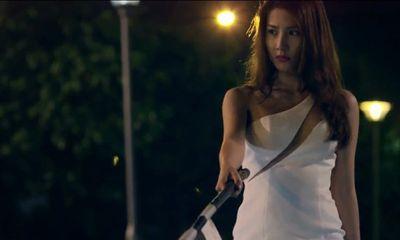 Hé lộ cảnh nóng chớp nhoáng của Diễm My 9x trong phim mới