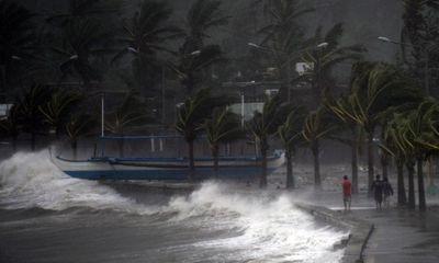 Chùm ảnh bão Hagupit đổ bộ vào Philippines