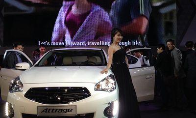 Mitsubishi Attrage - Sedan nhập khẩu, giá từ 468 triệu đồng