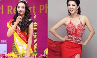 MC Nguyễn Cao Kỳ Duyên chúc mừng tân Hoa hậu trùng tên