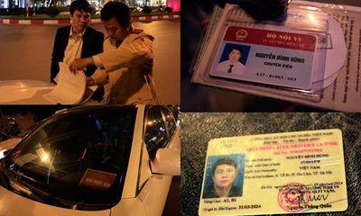 Miền Bắc - Gây tai nạn, chuyên viên Bộ Nội vụ văng tục, rút thẻ dọa CSGT