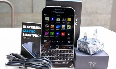 Diện mạo BlackBerry Classic đầu tiên về Việt Nam