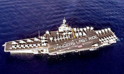 Hải quân Mỹ bán tàu sân bay từng tham chiến Việt Nam với giá... 1 xu