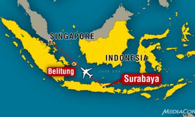 Máy bay AirAsia QZ8501 chở 162 người bị nghi rơi ở Indonesia