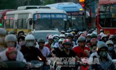 Cấm xe máy vào nội đô, khó vẫn phải làm