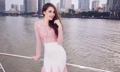 Hoa hậu Diệu Hân kiêu sa trên du thuyền bạc tỷ