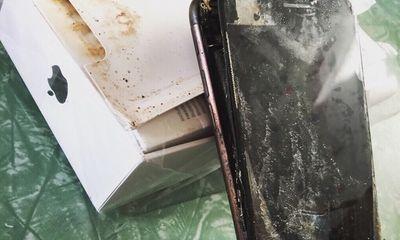 Lùm xùm Apple: iPhone 7 Plus phát nổ, iMessage bị tố theo dõi người dùng