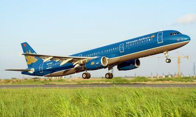 Máy bay Vietnam Airlines phải tạm dừng bay vì chim va vào động cơ