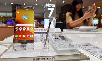 Samsung 'xin' miễn thuế đổi Galaxy Note 7 bị lỗi tại VN