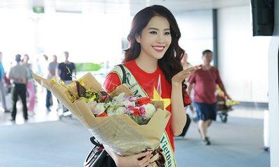 Nam Em chính thức lên đường dự thi Miss Earth 2016
