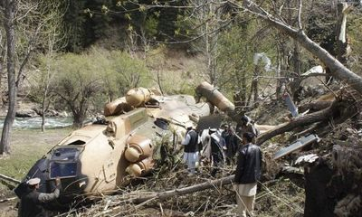 Trực thăng bị bắn rơi, 8 binh sĩ Afghanistan tử nạn