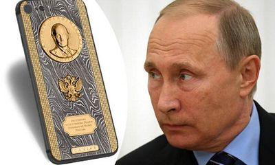 Putin được tặng iPhone 7 siêu