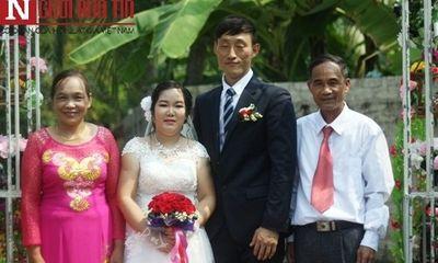 'Chuyện tình Zalo' của cô gái khuyết tật xứ Nghệ với người chồng Hàn Quốc