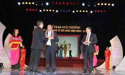 Công ty Kingphar vinh dự nhận giải sản phẩm vàng vì sức khỏe cộng đồng