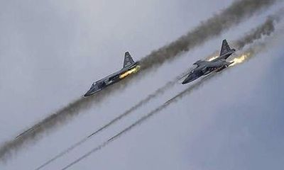 Chiến đấu cơ Nga và Syria ngừng không kích khủng bố ở Aleppo