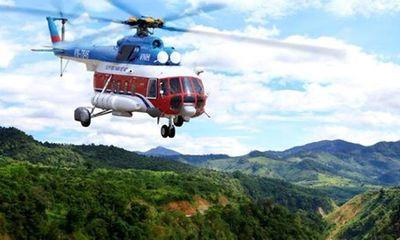 Đã xác định tọa độ và mảnh vỡ trực thăng mất tích EC-130