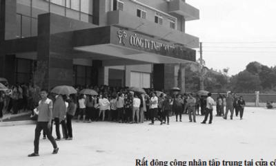 Nữ công nhân bị quản lý đánh nhập viện, hàng nghìn đồng nghiệp lên tiếng