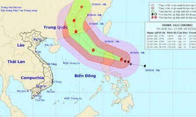 Bão số 7: Trung tâm quốc tế vẫn xác định bão