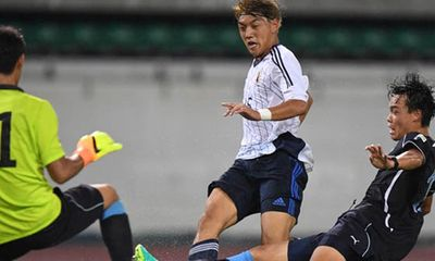 Dễ dàng đánh bại Tajikistan, Nhật Bản vào bán kết gặp U19 Việt Nam