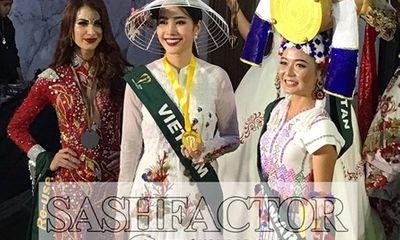 Nam Em đoạt giải Hoa hậu Ảnh - Đứng đầu châu Á sau tất cả phần thi phụ