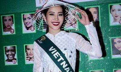 Nam Em sẵn sàng cho đêm chung kết Hoa hậu Trái Đất 2016