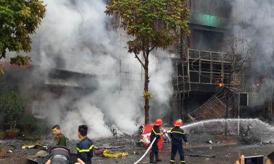 Vụ cháy quán karaoke làm 13 người chết qua lời kể của lính cứu hỏa