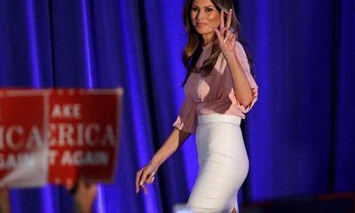 Vợ mới của Donald Trump đạo văn…vợ cũ