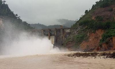 Thủy điện Hố Hô tăng lưu lượng xả lũ lên 516m3/s trong chiều nay