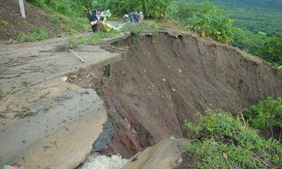 Sau mưa lớn, Phú Yên xuất hiện