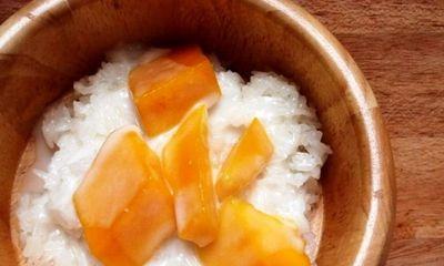 Xôi xoài - món tráng miệng béo bùi đúng vị Thái Lan